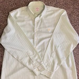 Brooks Brothers Men's Shirt Long Sleeve Size XL